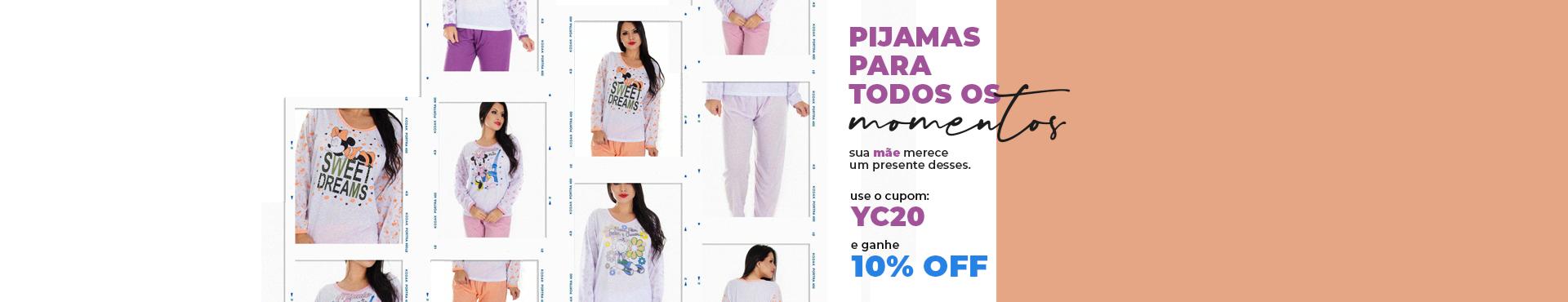 Pijama dia das maes