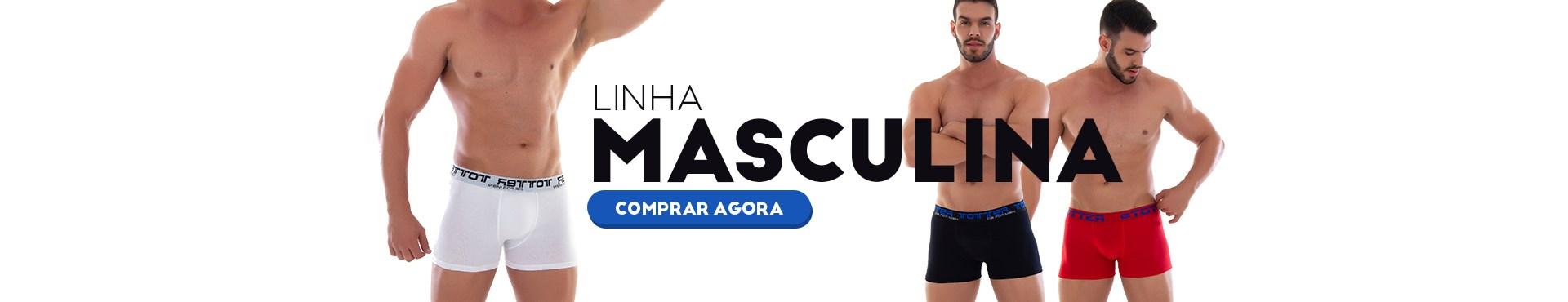 cueca masculina boxer comum slip