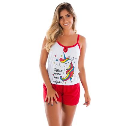Baby doll Adulto em Malha Suave   Short Doll Camiseta