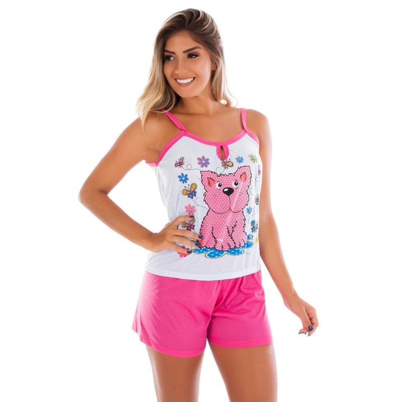 Baby doll Adulto em Malha Suave | Short Doll Camiseta