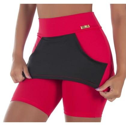 be39a58054 Bermuda Fitness com Bolso