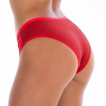 Calça Conforto Poá detalhe em Renda  | Larissa 741
