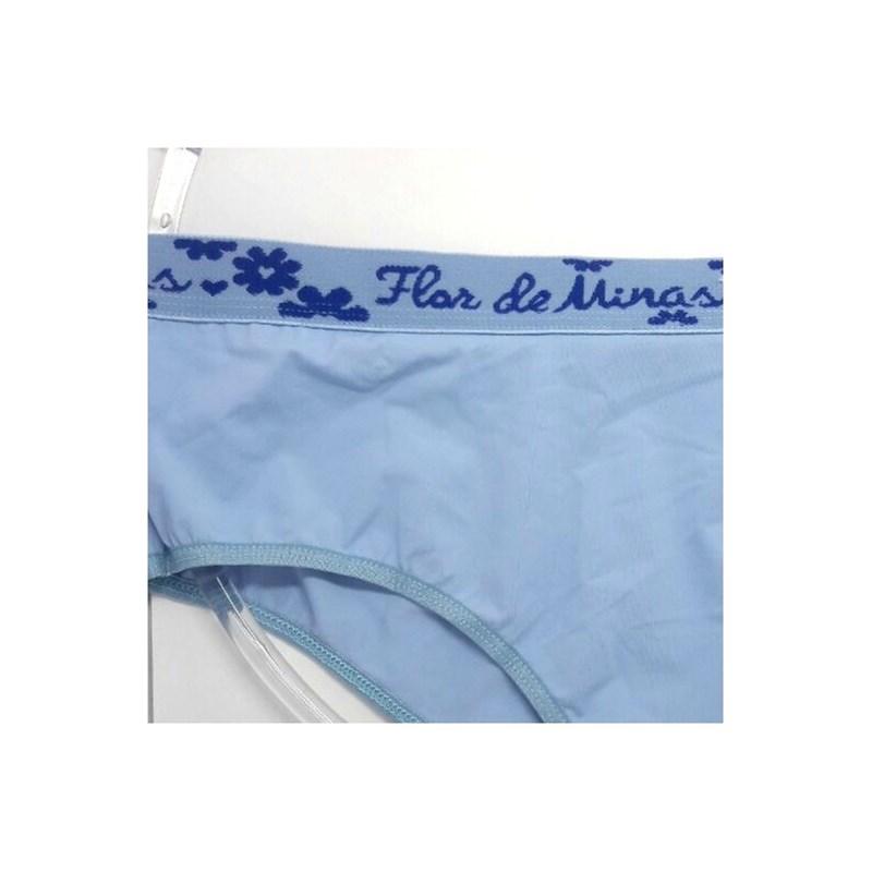 Calça Cueca Feminina em Poliamida Conforto   Betty 5206
