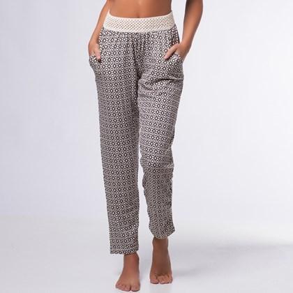 Calça Hippie Pantalona Estampada | 2305