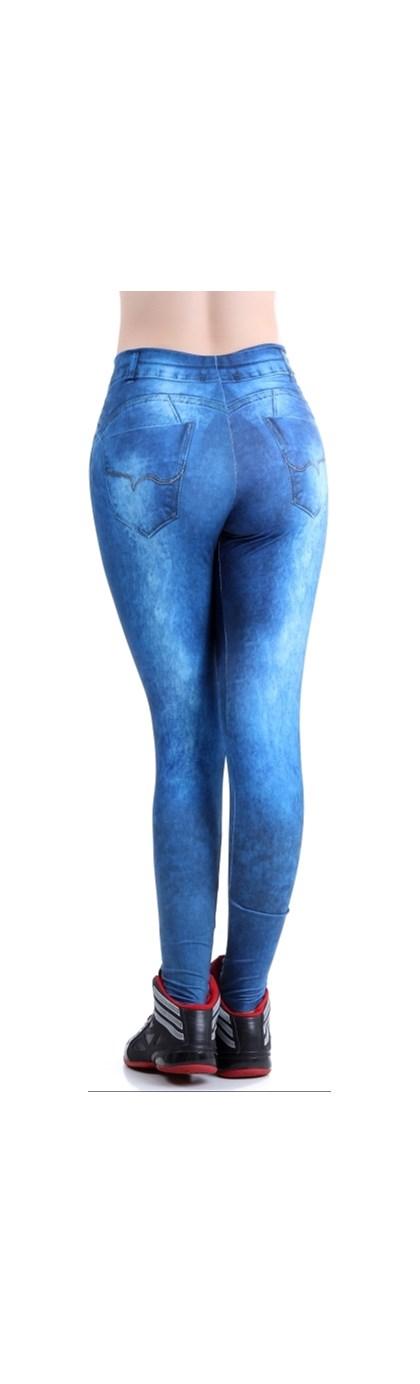 Calça Legging Fake Jeans  | lJeans