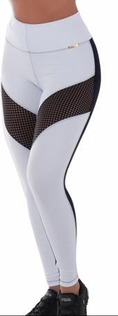 Calça Legging Fitness com telinha   RockTela