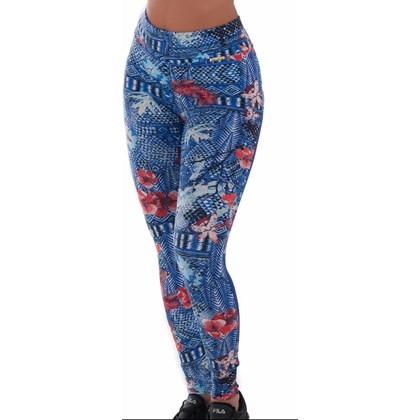 Calça Legging Fitness estampada com bumbum cor lisa | lCarioca