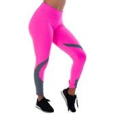 Calça Legging Fluorescente em Poliamida com Mescla | 10347