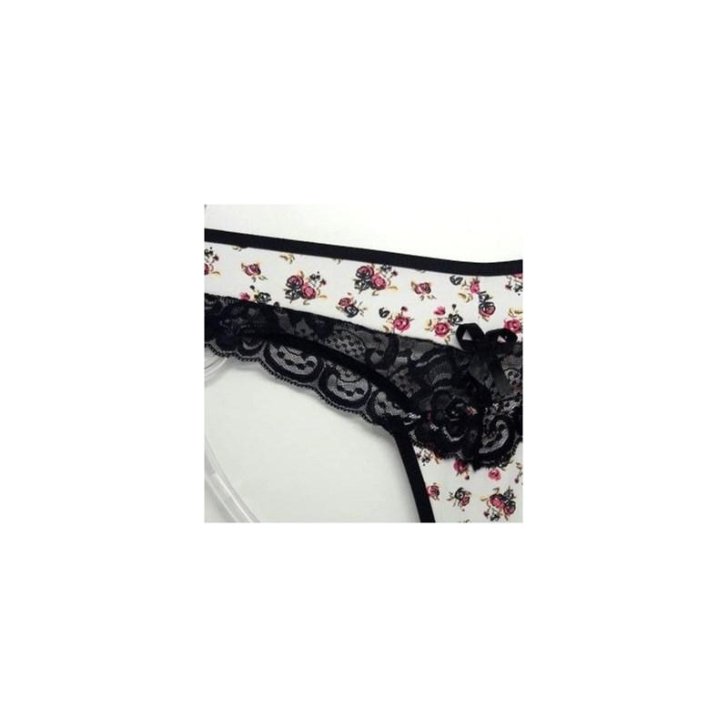 Calcinha Sexy com Transparencia de Renda | Eliene 1222
