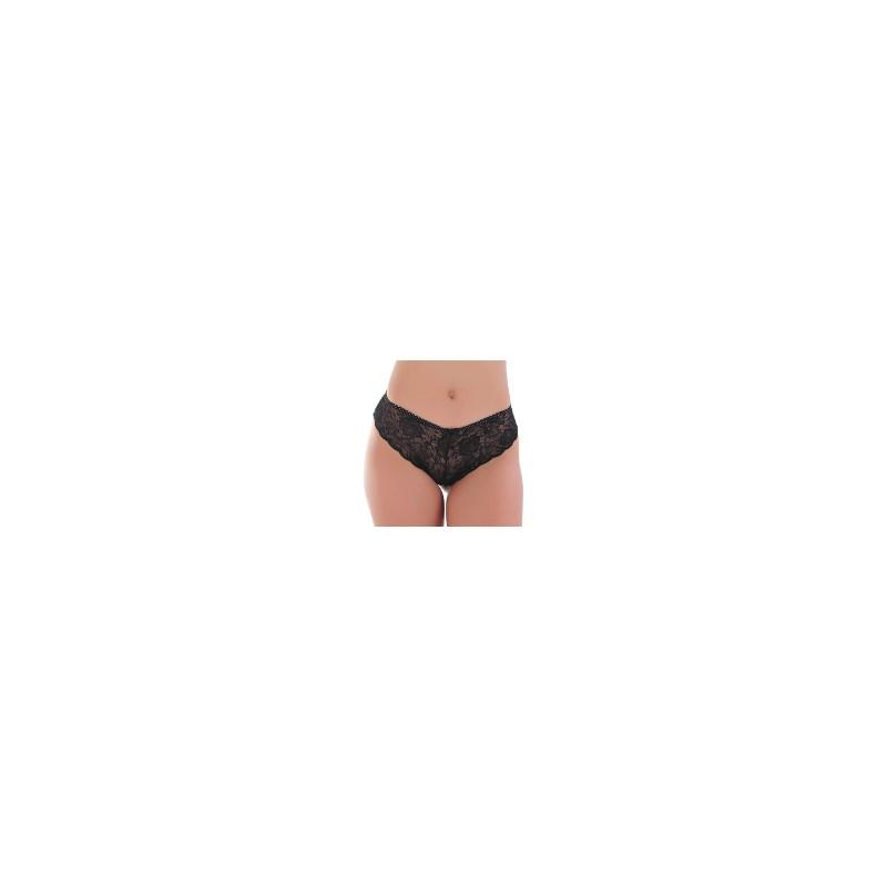 Calcinha Sexy Transparente em Renda | Caleçon 1536