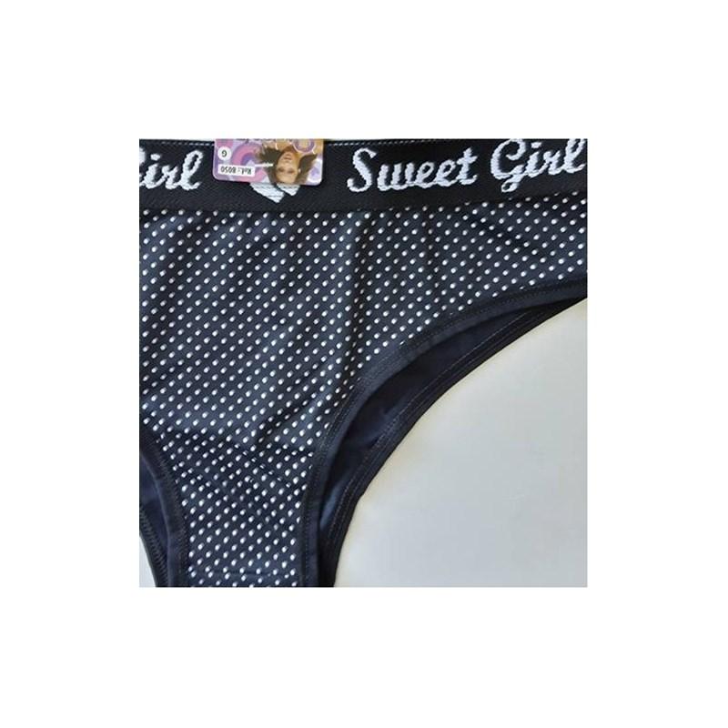 Calcinha Sweet Girl em Microfibra (Poliamida) Elástico Exp. | 8050