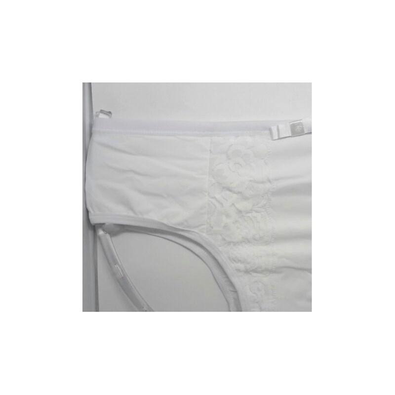 Calçola em Poliamida Confortável com Detalhe em Renda | Aurea 844