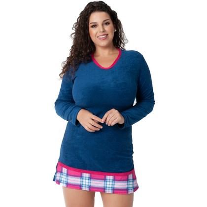 Camisola Plus Size Conforto Plush | 18123