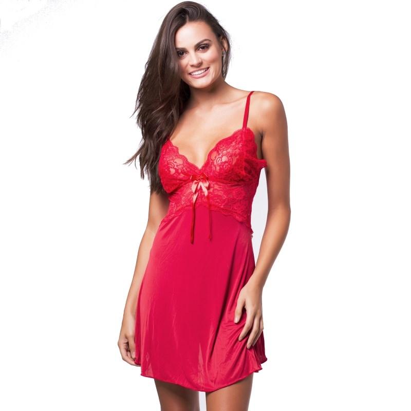 Camisola Premium Costas Nua e Renda | Lisa 8001