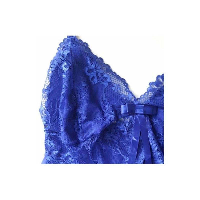 Camisola Sexy sem bojo e com renda   Malu