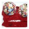 Conjunto Cropped Drapeado com palas em Renda e bojo colorido| 1024
