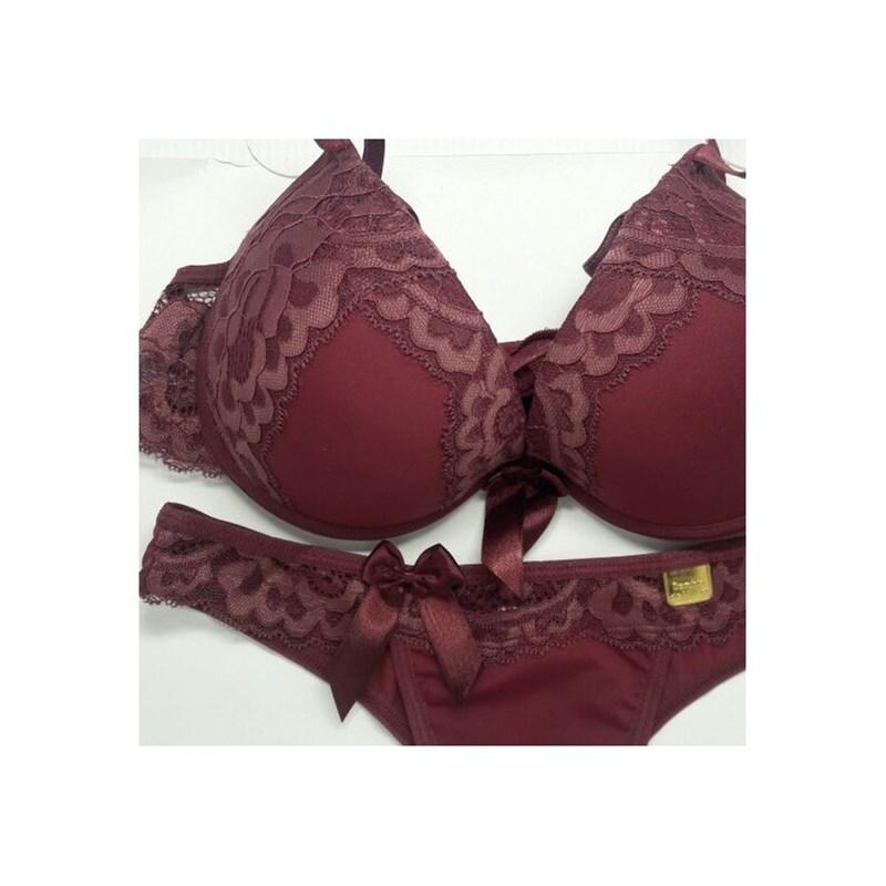 Conjunto Luxo Gargantilha Strappy e Tanga Sexy | Ousada 1168