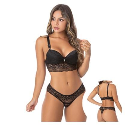 Conjunto Sensual Babadinho E Renda | Andressa