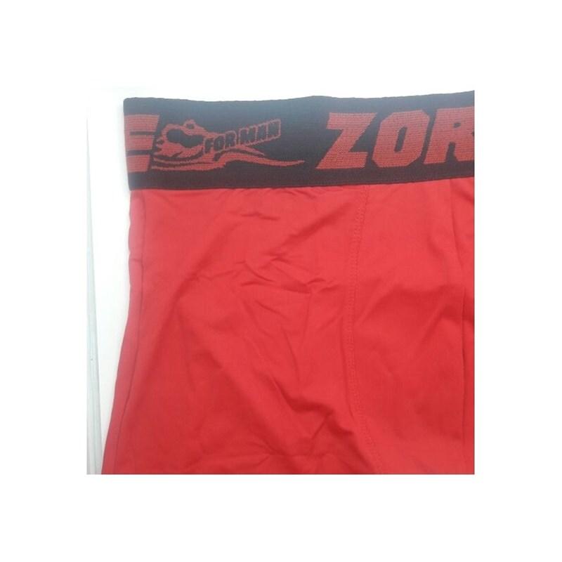 Cueca Box em Poliamida com Elástico Exposto 50mm | Zorp  5558