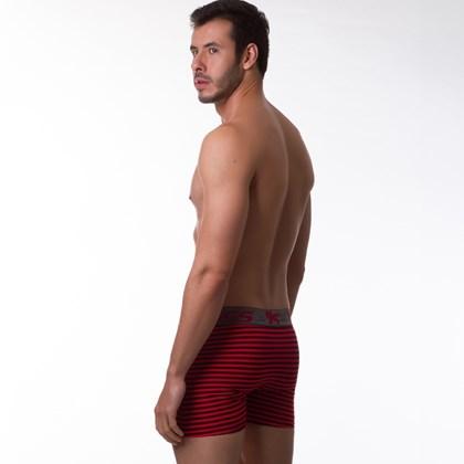 Cueca Boxer Confortável Listrada | 1273