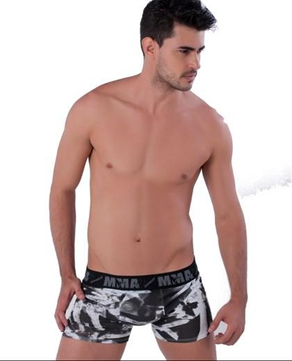 Cueca Boxer em Helanca estampada 5554