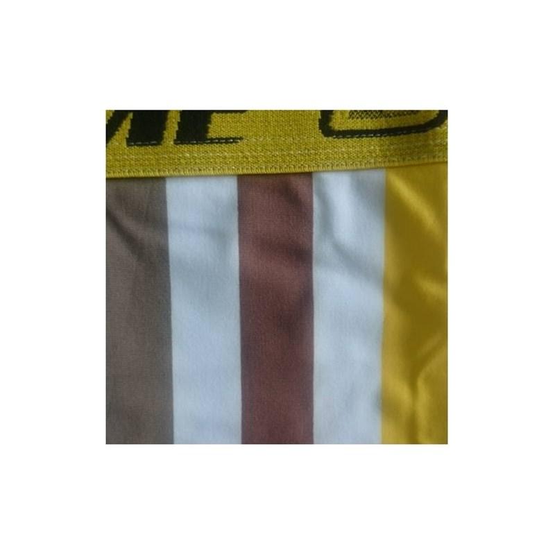 Cueca Boxer em Microfibra Listrada e elástico largo 35mm   701