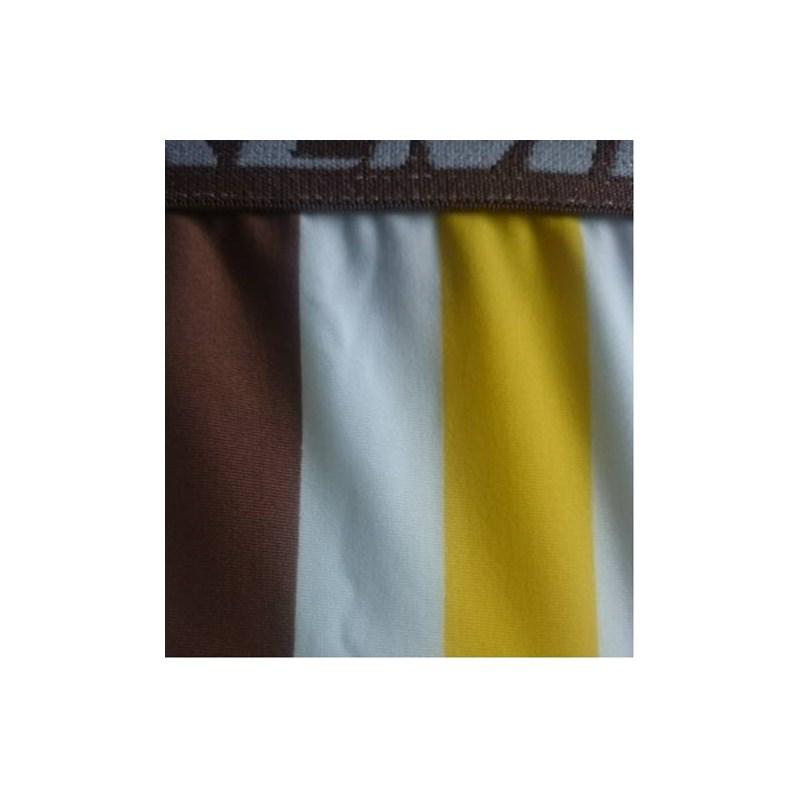 Cueca Boxer em Microfibra Listrada e elástico largo 35mm | 701
