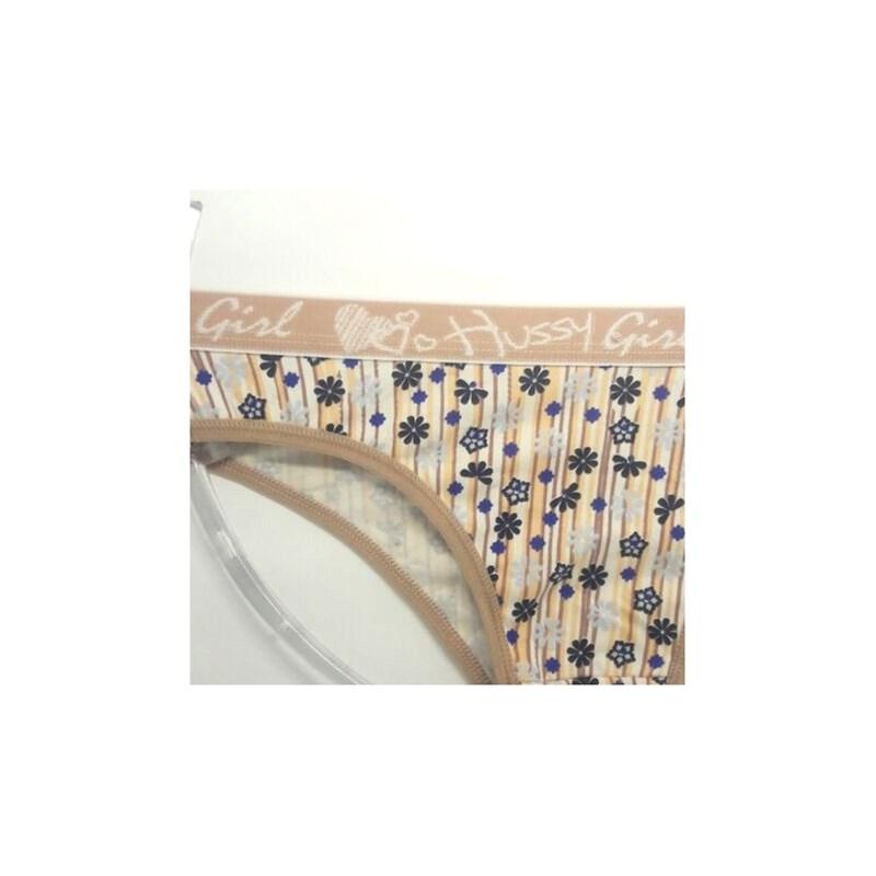 Cueca Feminina em Algodão Estampadinha | Bia 1386