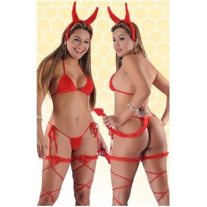 Fantasia Erótica de Diabinha com rabo | 218