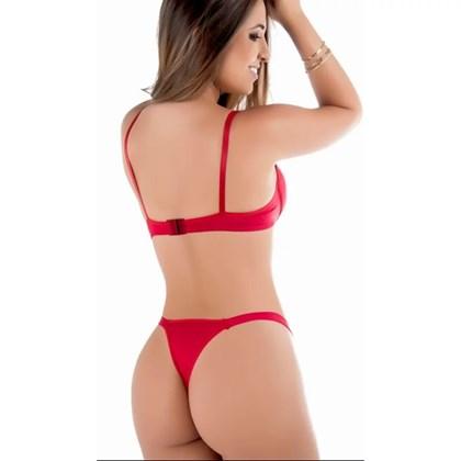 Kit 3 Conjunto de Lingerie Sexy com Bojo   Deodora 4165
