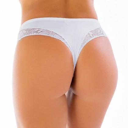 Kit 4 Calcinha Sexy Premium em Poliamida e Renda | 1042