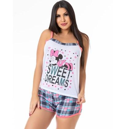 Kit 5 Baby Doll Camiseta e Short com Elástico Largo |Kit B Dudinha
