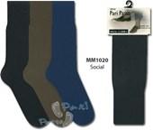 Kit com 3 Meias Social Clássica | PariPasso 1020