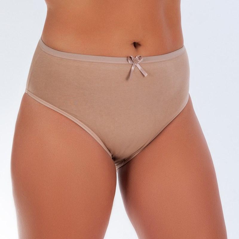 Kit De 4 Calçola Plus Size Confortavel De Algodão | 5026