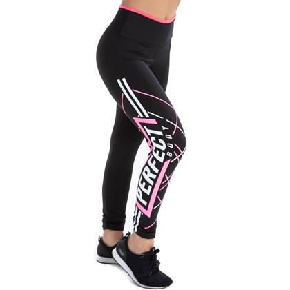 Legging Preta Suplex Cós Duplo Conforto | Perfect Body