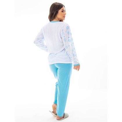 Pijama no Atacado - Kit com 10 Pijamas de Inverno Longo   159