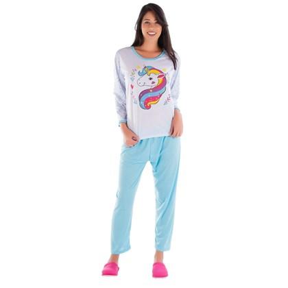 f71d6edd6 Pijama no Atacado - Kit com 10 Pijamas de Inverno Longo