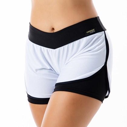 Short Fitness com Telinha   Dry Fit Tela 2302