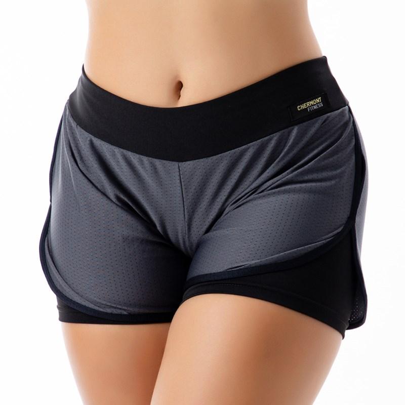 Short Fitness com Telinha | Dry Fit Tela 2302