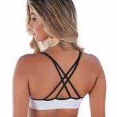 Sutiã de bojo com costas Strappy Bra | Mari
