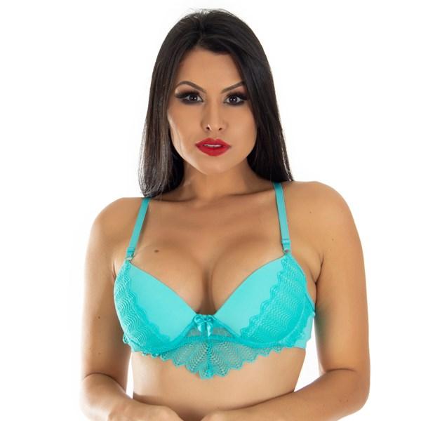 Sutiã Glamour Babadinho com Bojo | Liza 5259
