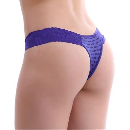 Tanga Básica lateral larguinha em renda | Sex Nelita