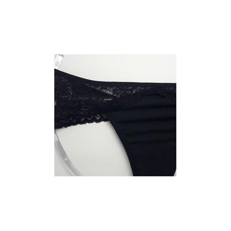 Tanga Sexy Sem Elastico no Bumbum e Renda | Tiara 72