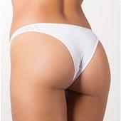 Tanga Sexy tira lateral com frente transparente | Roberta 767