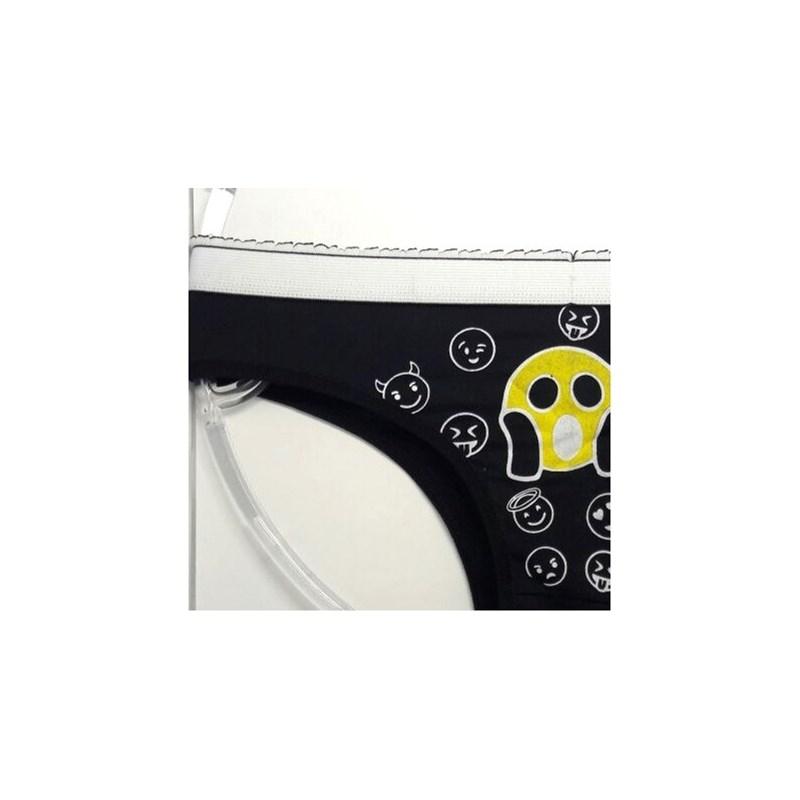 Tanga Zap Microfibra em Poliamida | Emoji 1236
