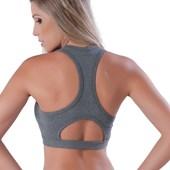Top Fitness Reforçado Sem Bojo | Topper Mariah