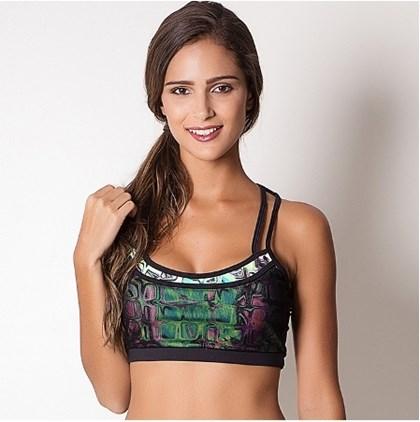 Top Fitness Verde com Telinha | V80055